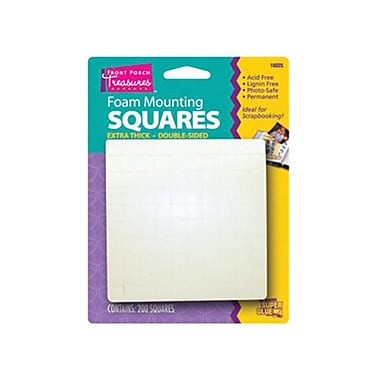 Super Glue Corp. Foam Mounting Squares- Pack of 12 (SUPGlUE067)