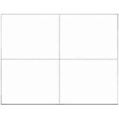 Docuprint Forms and Signs 4/Sheet White Outdoor Sign 4 OUTDOOR W-55425 (ORGl80973)