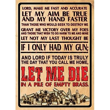 12 in. x 17 in. Tin Sign - lords Prayer (GS184615)