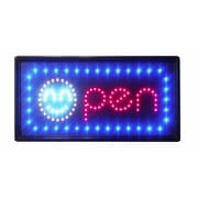 Constructor Animated Motion Smiley Open Sign led Neon light (DSDTC168)