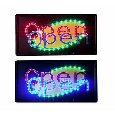 Constructor Animated Motion Dual Open Sign led Neon light (DSDTC167)