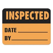 lmt Warehouse Self-Adhesive label - Inspected, Date, By (AZTY09153)