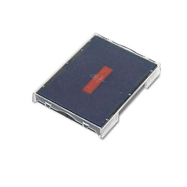 US Stamp Trodat T4729 Dater Replacement Pad 1-9/16w x 2d Red/Blue (AZRUSSP4729BR)