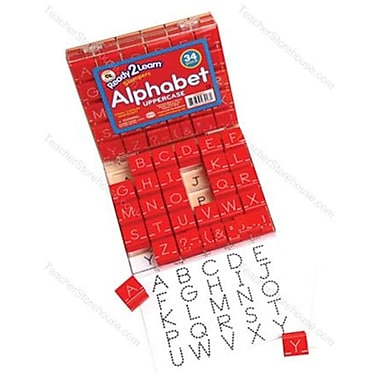Visual Closure 1 Upper Manuscript Set Alphabet Stamps (RTl145314)