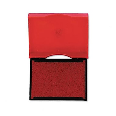 US Stamp Trodat T4750 Stamp Replacement Pad 1w x 1-5/8d Red (AZRUSSP4750RD)