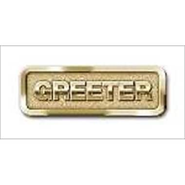 B and H Publishing Group Badge Greeter Magnetic Brass (ANCRD43465)