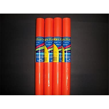 RiteCo Raydiant Riteco Raydiant Fade Resistant Art Rolls Orange 48 In. x 50 Ft. 4 Pack (RTCO022)