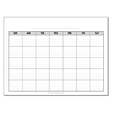Incrediline Pencil Me In Calendar Mural - Incrediwall - 36 Inches x 24 Inches (INCR028)