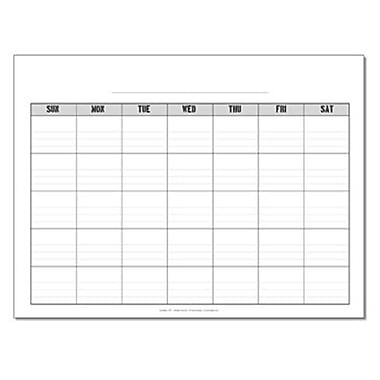 Incrediline Pencil Me In Calendar Mural - Incrediwall - 24 Inches x 18 Inches (INCR027)