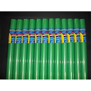 RiteCo Raydiant Riteco Raydiant Fade Resistant Art Rolls Bright Green 18 In. x 50 Ft. 12 Pack (RTCO067)