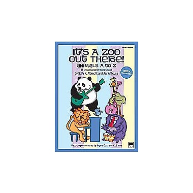 Alfred It s a Zoo Out There Animals A to Z - Music Book (AlFRD35384)