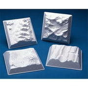 Hubbard Scientific Geology landform Models-Miniature 10 Set of 4 (AMED363)