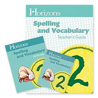 Alpha Omega Publications Spelling and Vocabulary 2 Complete Set (APOP376)