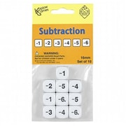 Koplow Games Inc. Subtraction Dice Set Of 10 (EDRE49909)