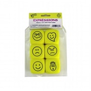 Koplow Games Inc. Foam Expressions Dice Set Of 6 (EDRE50020)