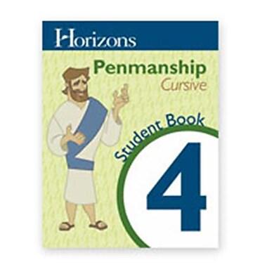 Alpha Omega Publications Horizons Penmanship 4 Student Workbook (APOP284)