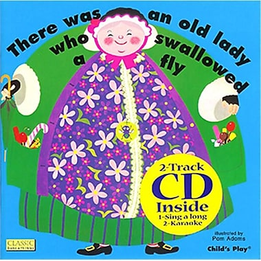 Childs Play Books Old lady Who Swawllowed A Fly and Cd (EDRE35280)