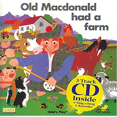 Childs Play Books Old Macdonald and Cd (EDRE35281)