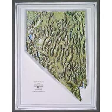 Hubbard Scientific Raised Relief Map Nevada NCR Series (AMED1938)