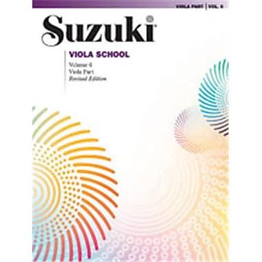 Alfred Suzuki Viola School Viola Part- Volume 6 - Music Book (AlFRD46546)