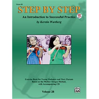 Alfred Step by Step 2B- An Introduction to Successful Practice for Violin - Music Book (AlFRD46642)