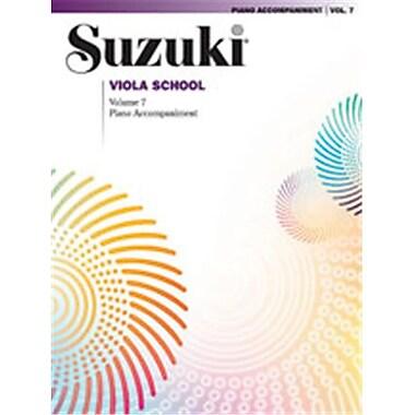 Alfred Suzuki Viola School Piano Acc.- Volume 7 - Music Book (AlFRD46549)