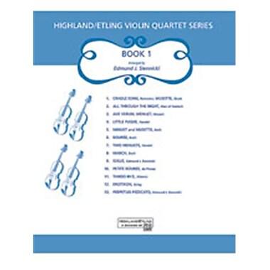 Alfred Highland-Etling Violin Quartet Series- Set 1 - Music Book (AlFRD46723)