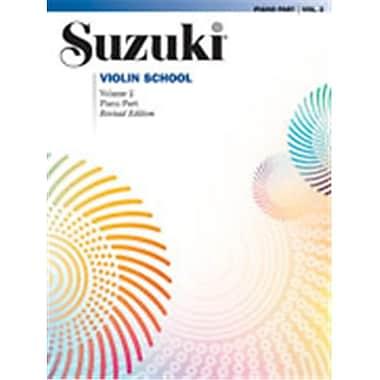 Alfred Suzuki Violin School Piano Acc.- Volume 2 - Music Book (AlFRD46655)