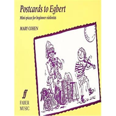 Alfred Egbert Series- Postcards to Egbert - Music Book (AlFRD46772)