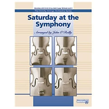 Alfred Saturday at the Symphony - Music Book (AlFRD47008)