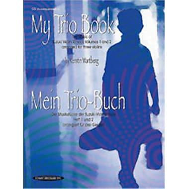 Alfred My Trio Book- Mein Trio-Buch- Suzuki Violin Volumes 1-2 arranged for three violins - Music Book (AlFRD46980)