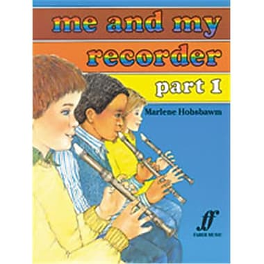 Alfred Me and My Recorder- Part 1 - Music Book (AlFRD45869)
