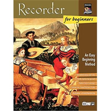 Alfred Recorder for Beginners - Music Book (AlFRD45860)