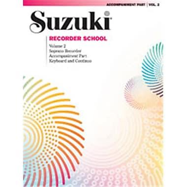 Alfred Suzuki Recorder School- Soprano Recorder Accompaniment- Volume 2 - Music Book (AlFRD45899)