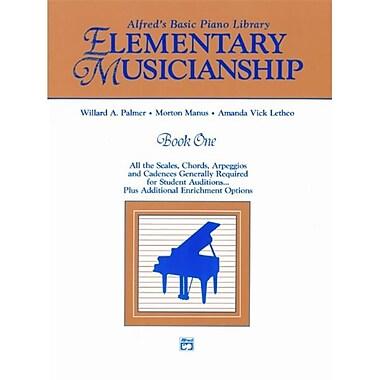 Alfred Musicianship Book- Elementary Musicianship - Music Book (AlFRD44266)