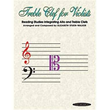 Alfred Treble Clef for Violists- Reading Studies Integrating Alto and Treble Clefs - Music Book (AlFRD46392)