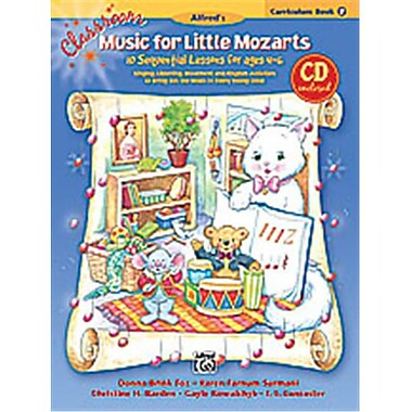 Alfred Classroom Music for little Mozarts- Curriculum Book 2 and CD - Music Book (AlFRD35393)