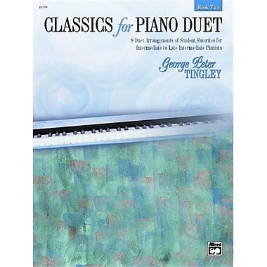 Alfred Classics for Piano Duet- Book 2 - Music Book (AlFRD43777)