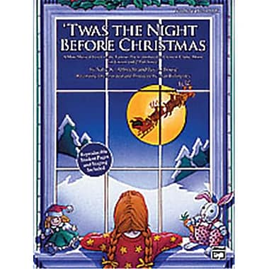 Alfred Twas the Night Before Christmas - Music Book (AlFRD38958)