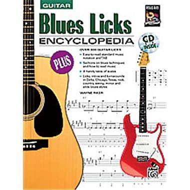 Alfred Blues licks Encyclopedia - Music Book (AlFRD35952)
