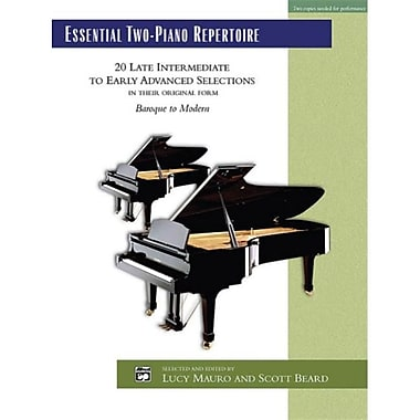 Alfred Essential Two-Piano Repertoire - Music Book (AlFRD44096)