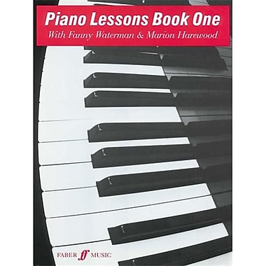 Alfred Piano lessons- Book 1 - Music Book (AlFRD44202)