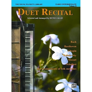 Alfred The Young Pianist s library- Duet Recital Book- Book 6B - Music Book (AlFRD43959)