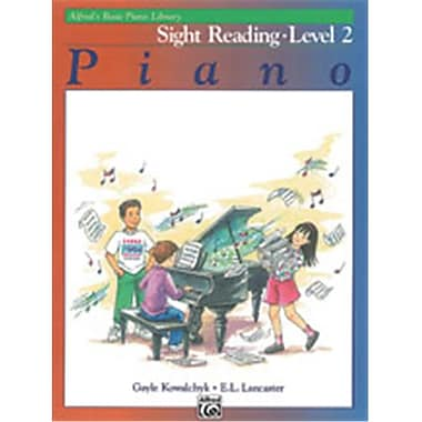 Alfred Basic Piano Course- Sight Reading Book 2 - Music Book (AlFRD40781)