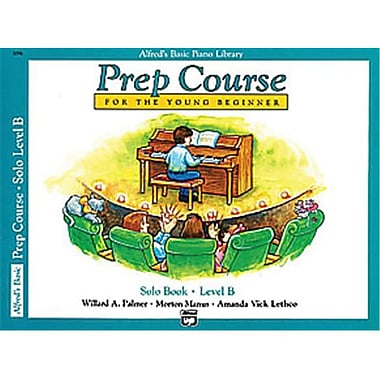 Alfred Basic Piano Prep Course- Solo Book B - Music Book (AlFRD40829)