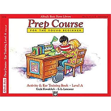 Alfred Basic Piano Prep Course- Universal Edition Activity and Ear Training Book A - Music Book (AlFRD40813)
