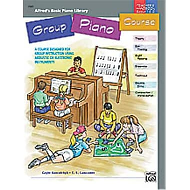 Alfred Basic Group Piano Course- Teacher s Handbook for Books 1 and 2 - Music Book (AlFRD40602)