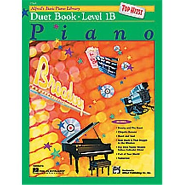 Alfred Basic Piano Course- Top Hits Duet Book 1B - Music Book (AlFRD40666)