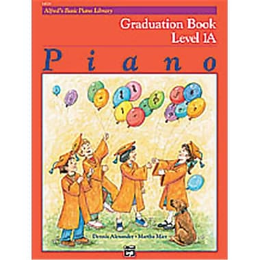 Alfred Basic Piano Course- Graduation Book 1A - Music Book (AlFRD40639)