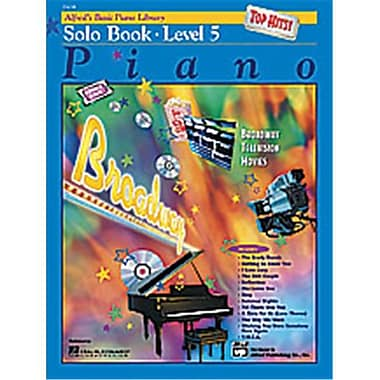 Alfred Basic Piano Course- Top Hits Solo Book 5 - Music Book (AlFRD40678)